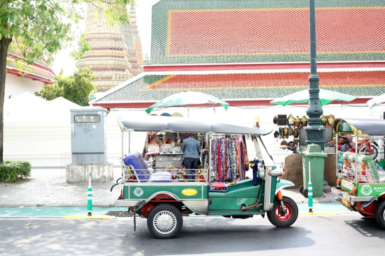 Tuk Tuk Taxi in Bangkok