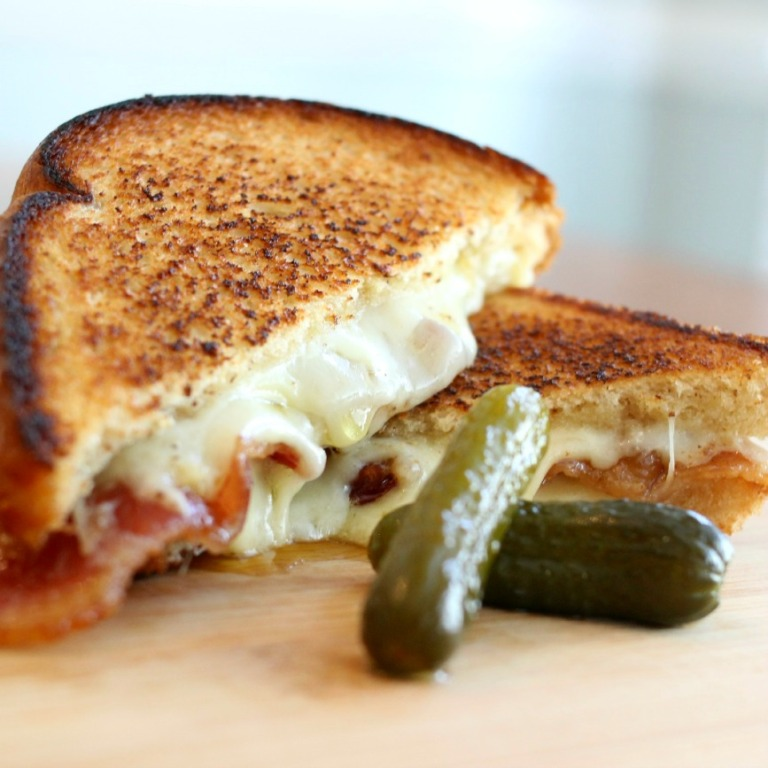 Bacon Truffle Grilled Cheese