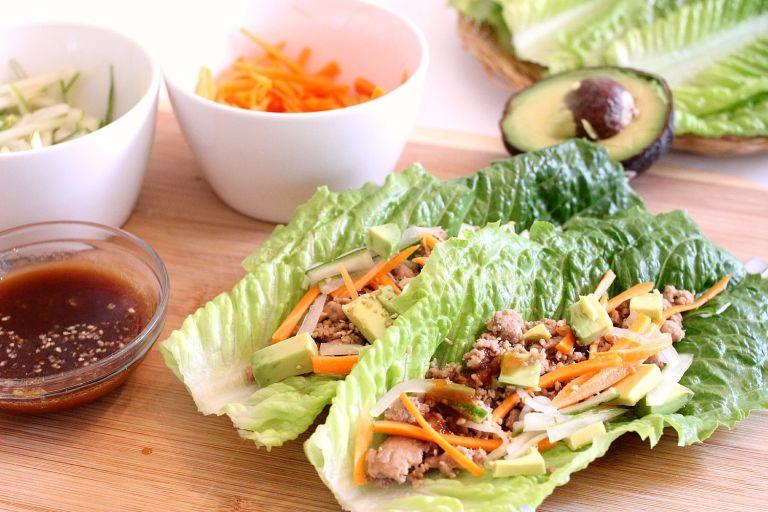 Low carb Kalbi Lettuce Wrap