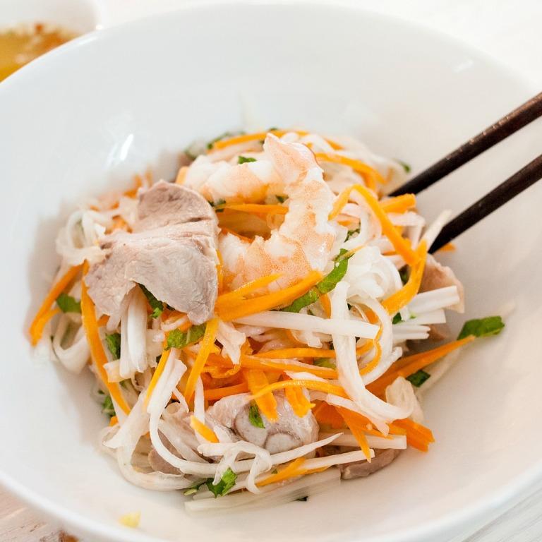 Vietnamese Lotus Salad