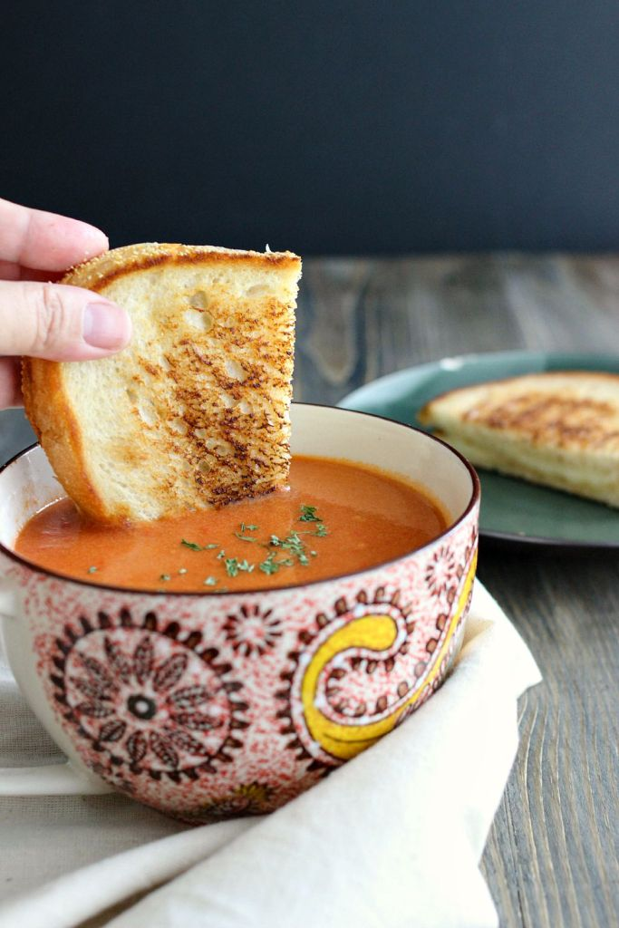 Warm Tomato Bisque
